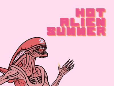 Hot Alien Summer