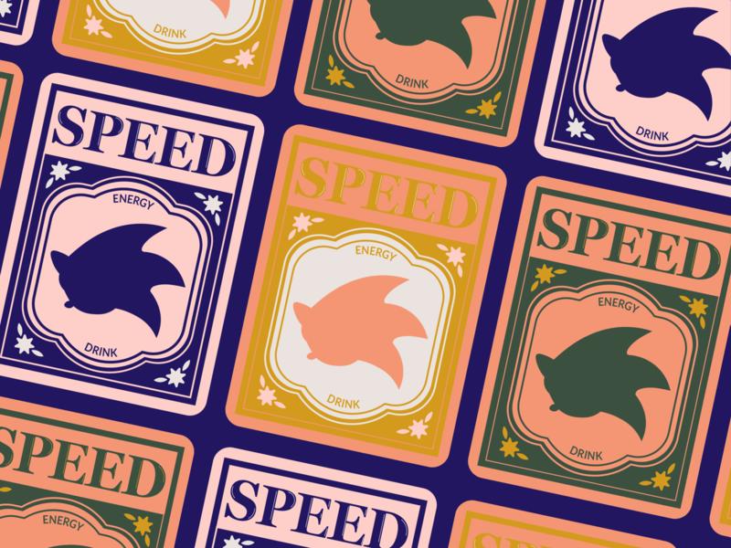Gotta Go Fast logo gaming sonic the hedgehog packaging branding illustrator design digital digital art