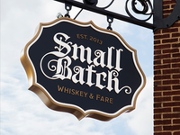 Small Batch Sign