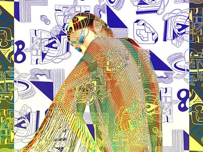 Dd, Dddddd. illustration overlay abstract d surface pattern pattern design