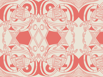T&Bz surface pattern design repeat abstraction surface pattern illo abstract pattern design illustration