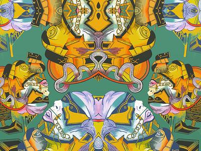 FactzUndo abstract pattern illo