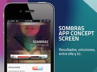 SOMBRAS App Concept