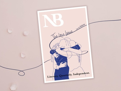 NB Magazine, The Love Issue girlfriends amistad amor friends hugs hug friendship love illustration magazine cover magazine