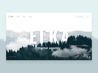 ELKA - website motion design