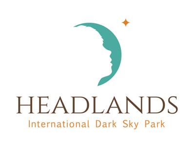 Headlands International Dark Sky Park logo branding stars science