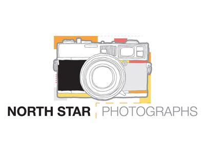 North Star Photographs Logo logo branding photography
