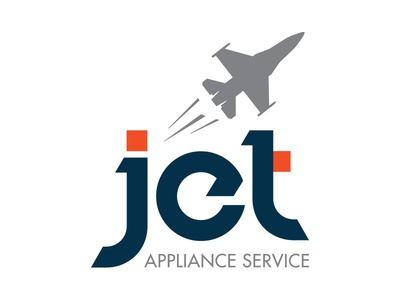 Jet Appliance Service design logo