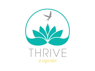 Thrive At Vogue Salon Logo