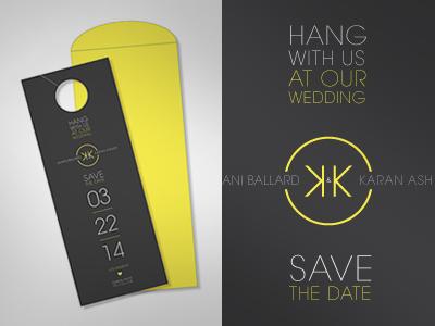 Save The Date - unused design