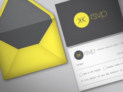 RSVP card mockup