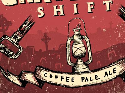 Graveyard Shift - label design detail 1