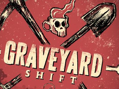Graveyard Shift - label design detail 2