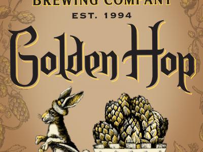 Golden Hop - label detail 2 yards brewing company philadelphia hops label beer brewery yards