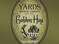 Golden Hop - label detail 4