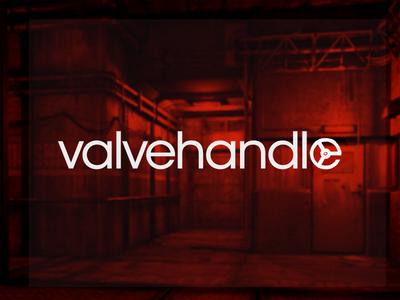 """Valvehandle"" logo exercise logo videogames resident evil valve valvehandle"