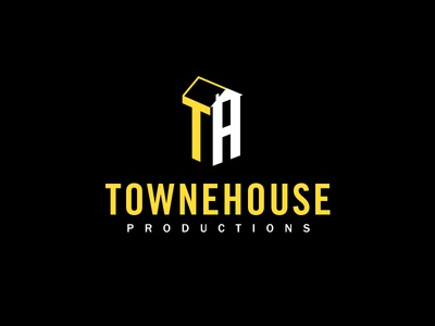 Townehouse Productions logo house logo production film
