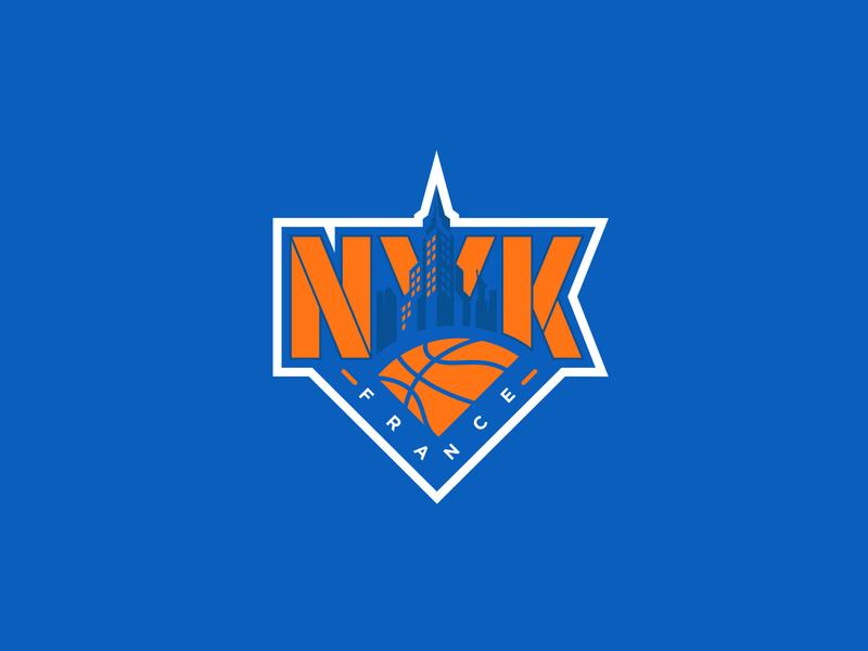 New York Knicks - Concept Logotype basketball logo knicks new york knicks logo sport basketball sports brand logo illustration branding