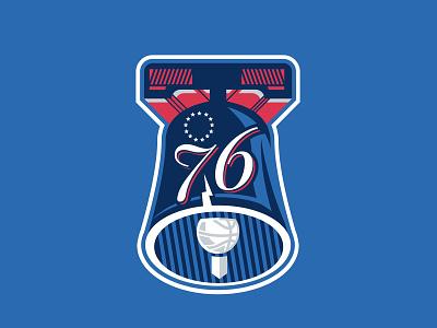 Philadelphia 76ers - Concept Logotype philly 76ers philadelphia 76ers basketball logo logo logo sport illustration basketball sports brand branding
