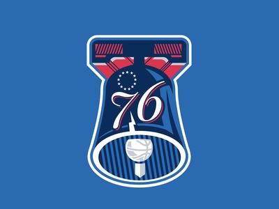 Philadelphia 76ers - Concept Logotype