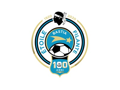 Étoile Filante Bastiaise - 100 Anni Logotype