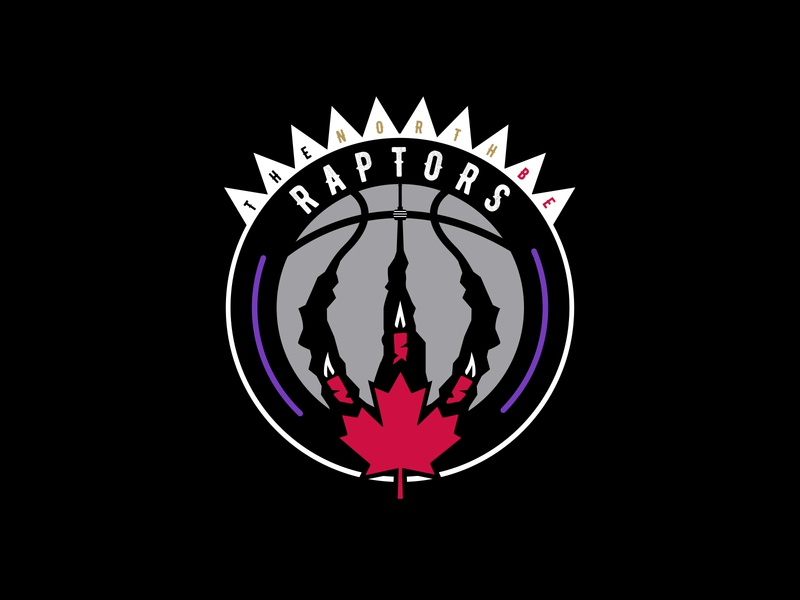Toronto Raptors - Concept Logotype toronto raptors raptors basketball logo basketball logo logo sport sports brand illustration branding