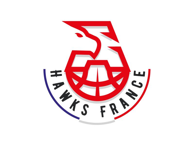 Atlanta Hawks FR logo redesign atlanta hawks basketball logo basketball logo sport logo sports brand illustration branding