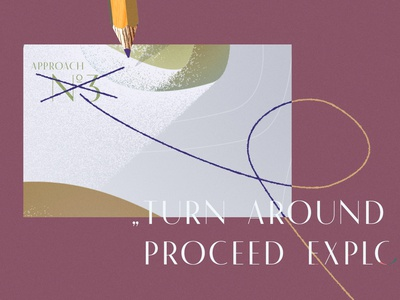 Wandeln Still 04 still typography illustration design wandeln motion graphics motion design animography animation 2d animation animated typeface animated type