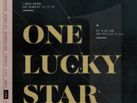 one lucky star wip
