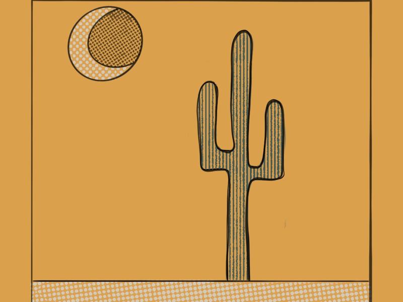 Desert Vibes illustration desert vibes procreate desert