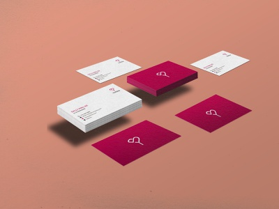 Yerbba Business Card logo web branding illustration design