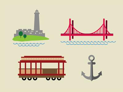 The Bay Icons: San Fran