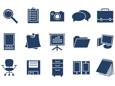 Office Icons Set vector icons office icon set microsoft concepts flat illustrator illustration free ms windows clean timdegner degner fun awesome