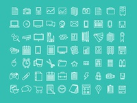 Icons Office & Work: Free