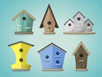 Birdhouse Icons Tim Degner
