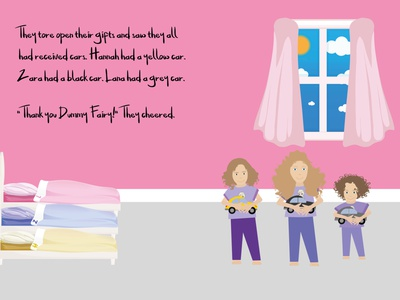 The Dummy Fairy Ebook ebook kids book indesign illustrator illustration