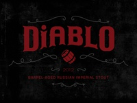 Diablo Beer Label