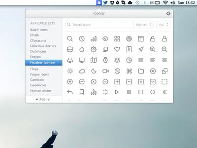 Iconjar Mac app