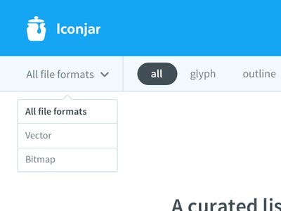 Iconjar website sneak peek