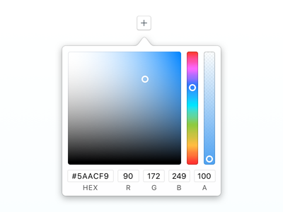 Mac OS styled color picker colour gradient picker color color picker mac os os osx mac