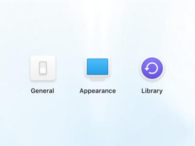 Preferences icons subtle icons settings app native mac mac os preferences iconjar