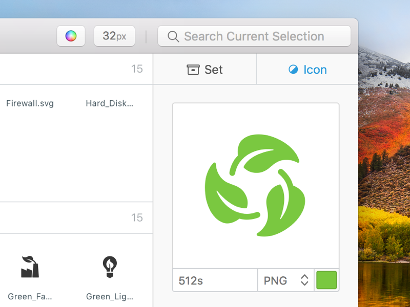 IconJar QuickDrag native macos mac app organise management icon iconjar