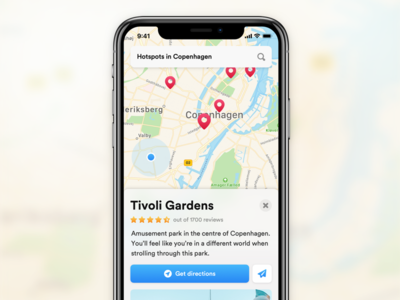 Sample app for IconJar sheet search locations maps iconjar iphone x iphone app ios
