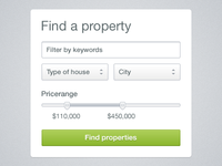 Property search widget [freebie]