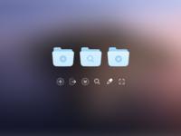 IconJar v2 UI details