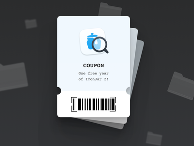 🚨 We're giving away 3 licenses for IconJar 🚨 mac app macos icon macos icons iconjar coupon ticket giveaway