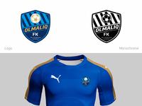 Olmaliq FC - Concept Logo
