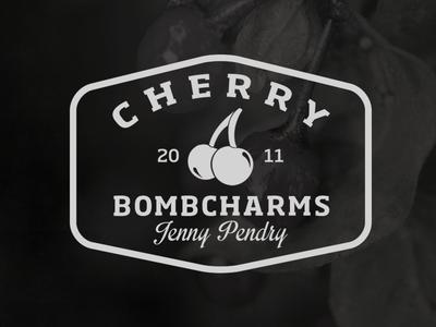CherryBombCharm Type Logo