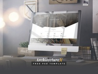 ArchitectureX - Free Psd Template
