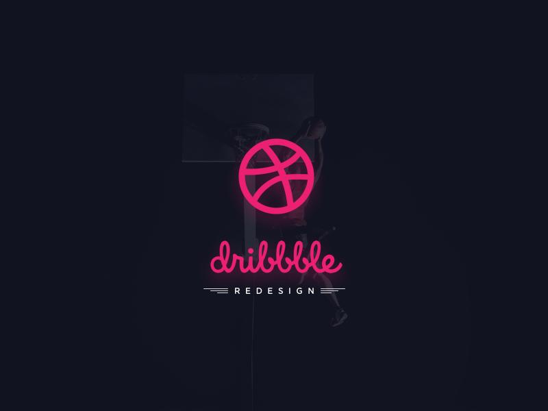 Dribbble Redesign Concept web concept ui concept ui design dribbble redesign ux ui modern